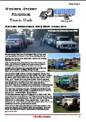 WSHTC News vol 4 issue 1